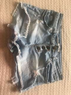 Billabong denim shorts