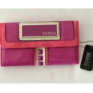 Guess By Marciano Pink Lorella Purse Wallet - Brand New