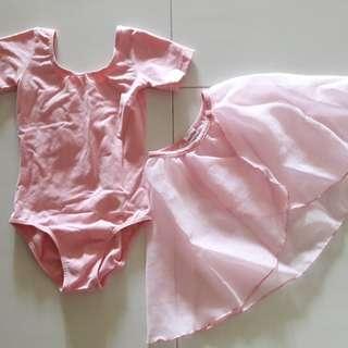 Dancepointe ballet leotard and skirt