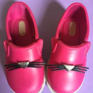 Mini Melissa IT cat slip-on shoes (Original)