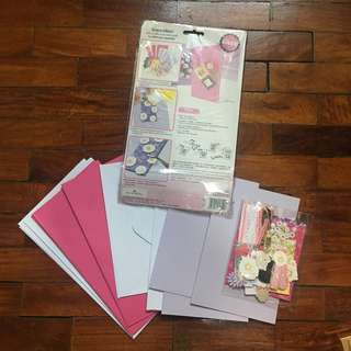 Scarpbooking Letter Cards