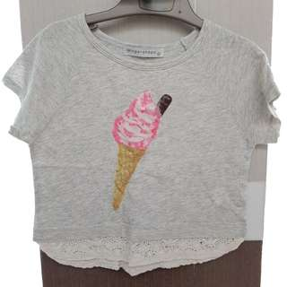 gingersnaps ice cream tee