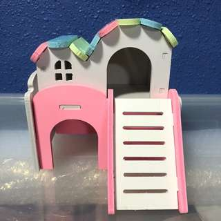 [ONE PIECE ONLY] Wooden Hamster Hideout House
