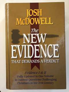 Josh mcdowell The New Evidence That Demands A Verdict