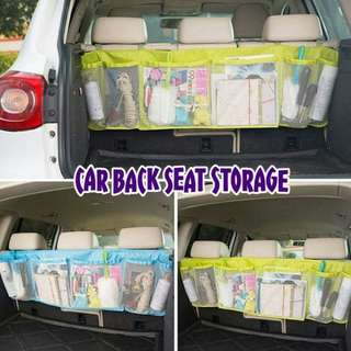 CAR BACK SEAT STORAGE