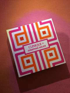 Clinique + Jonathan Adler Eyeshadow duo with blush