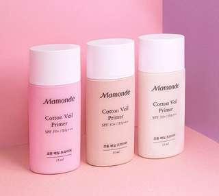 Mamonde Cotton Veil Primer SPF 50+/PA+++ 棉花透薄調色妝前乳