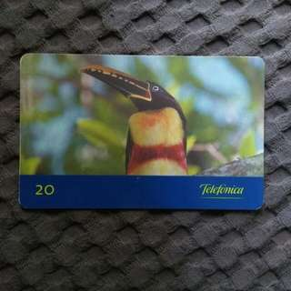 Brazil phonecard - rare