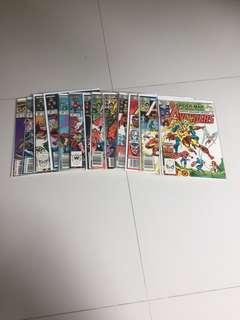 Avengers Comics Lot, X-men, Marvel, Iron Man, Hulk
