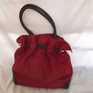 Beautiful Made in Italy leather tote bag