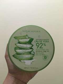 Soothing & moisture aloevera 92% soothing gel