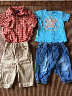 Boys Set from UK (Zara, Next, Gap)