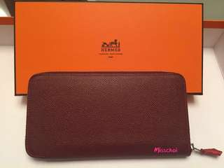 Hermes Wallet silk-in wallet