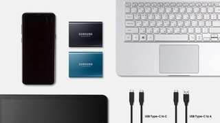 Samsung T5 Portable SSD - 1TB