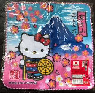 Hello Kitty x 富士山 手巾