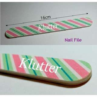 Klutter $2 - Nails File Filing Filer Fingers Toes Fingernails Girls Ladies