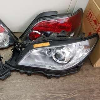 WRX STi Hawkeye Headlights/ Taillights