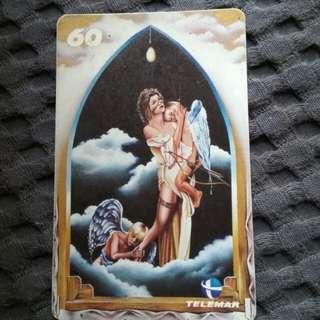 Carlos Magno - rare phonecard