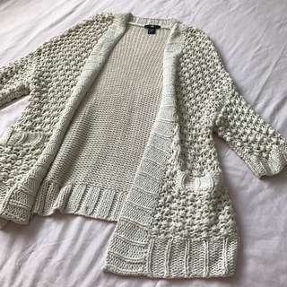 H&M Knit Cardigan/Beach Coverup