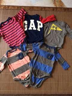 Baby GAP rompers