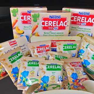 Nestle Cerelac +18 samples