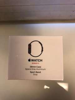 Apple Watch Series 3 38mm space al sport