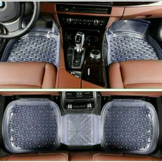 Traveholic 5pcs Waterproof Car Mat