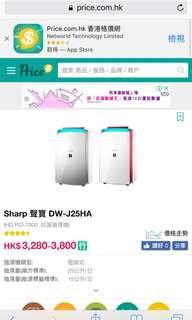 Sharp 聲寶 DW-J25HA
