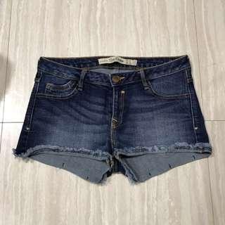 $100專櫃zara牛仔短褲尺寸34
