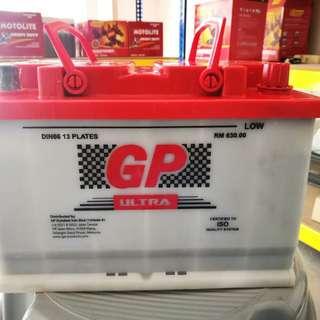 Bateri Kereta DIN66L GP-wet