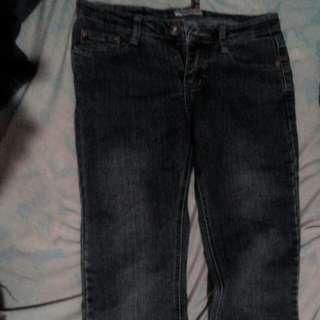 Washed Maong pants