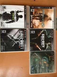 PS3 games 放戲