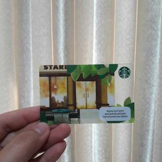 Starbucks Card with 300 load
