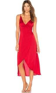 REVOLVE Somedays Lovin Wrap Dress