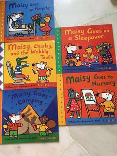 Readers for children ( Maisy series)