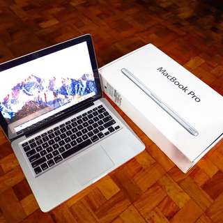 Macbook Pro 2012 model 13 inch