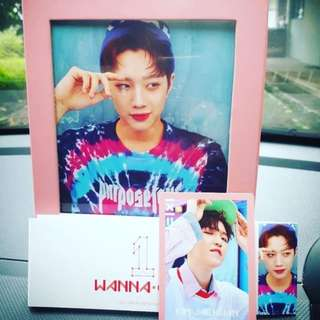 WANNAONE ALBUM - KUANLIN PINK SLEEVE WITH JAEHWAN PC