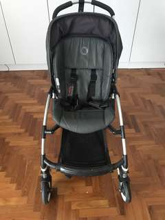 Bugaboo Bee Limited Edition Denim Pram/Stroller and accessories