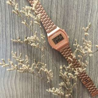 Rose Gold Casio Classic Vintage Watch