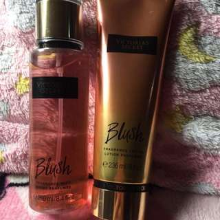 Victoria's Secret Blush Mist + Lotion