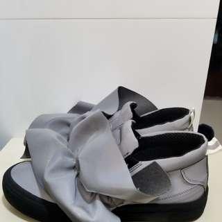 msgm 特別版 厚底3m反光便服鞋 size39 special edition(made in Italy)