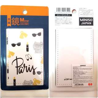 [NEW] Pocket Mirror - Paris decor cover