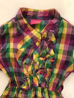 Purple Dress for kids