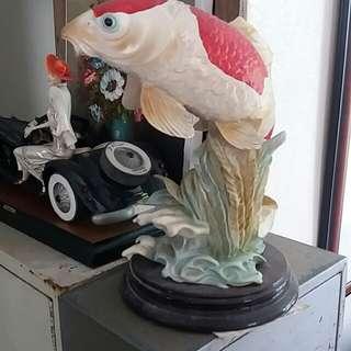 風水魚,義大利造,约12x15 吋