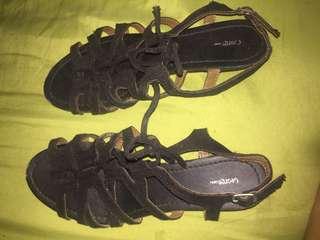 George gladiator sandals