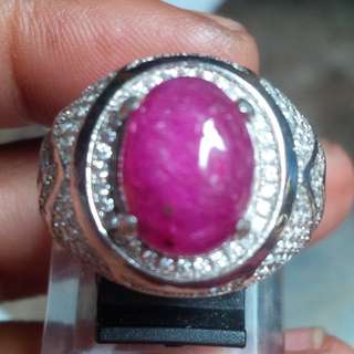 cincin red ruby + memo
