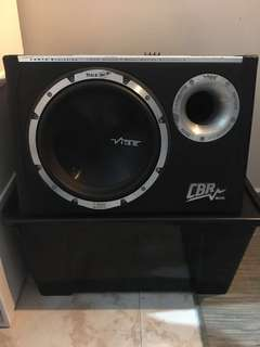 Sub Woofer 10inch With Built in MonoAmp