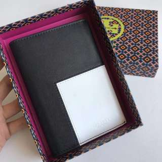 Tory Burch passport cover genuine leather