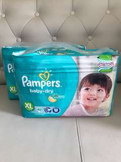 Pampers Baby-Dry Tape XL