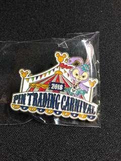 迪士尼襟章 Disney pin 2018 pin trading carnival Stella